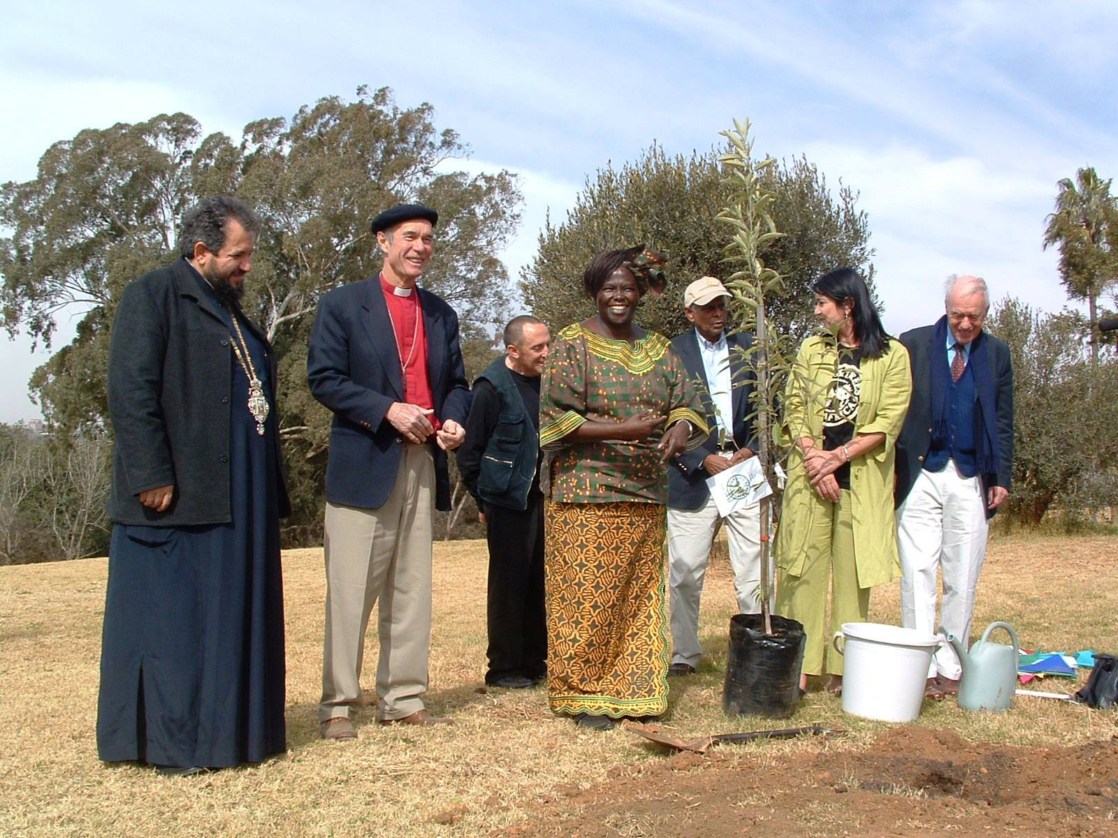 SAFCEI Launch, with Wangari Maathai 20 July 2005