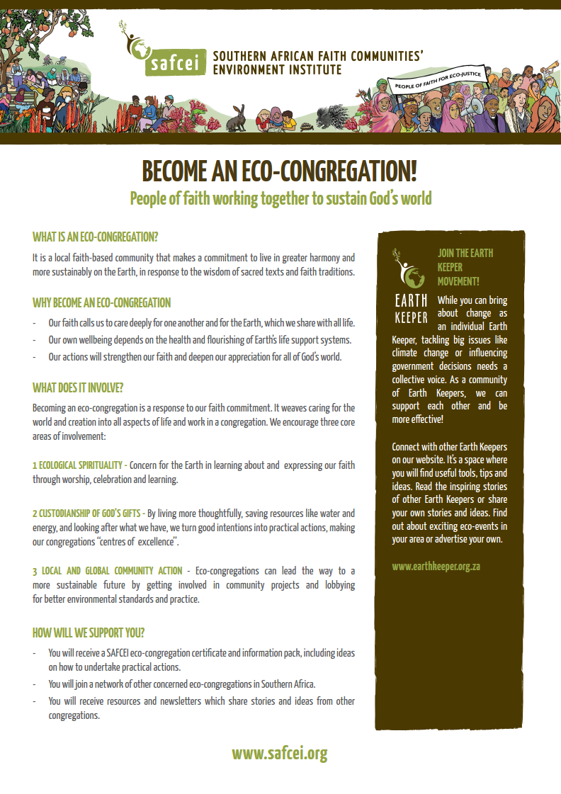 Eco-congregations about