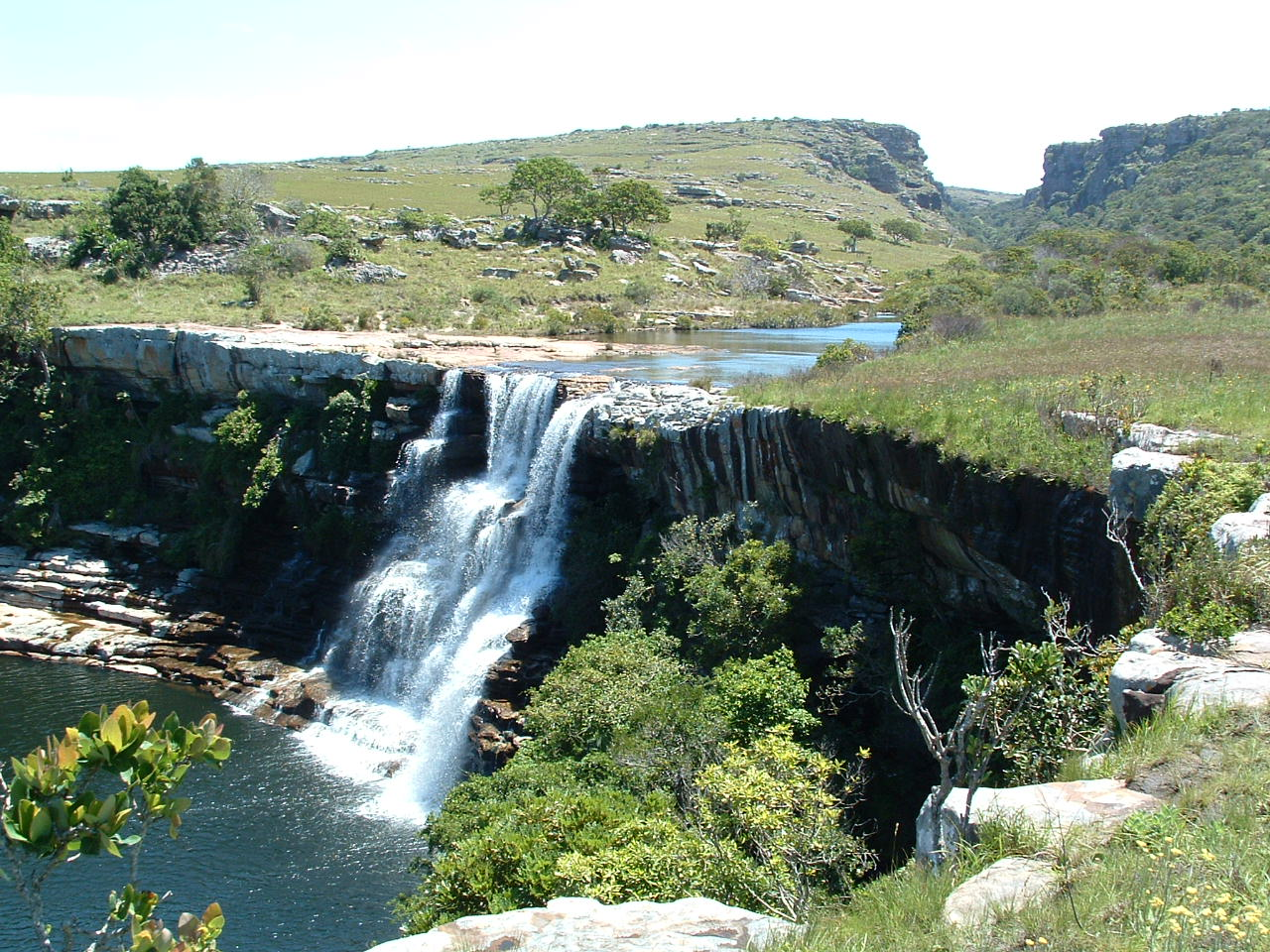 Horseshoe Falls MKAMBATI Nature Reserve, Wild Coast