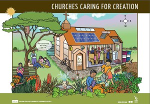 Churches caring for creation poster