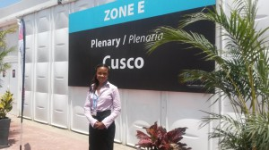 Day-1-Lydia-at-COP20-Lima-300x168
