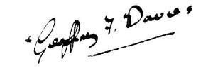 Geoff's signature