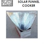How to make a solar funnel cooker