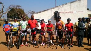 WHF cyclists