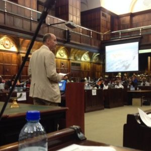 Climate Change Hearings at Parliament