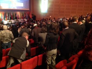 Opening session of the International Renewable Conference hosted in Cape Town for the first time.