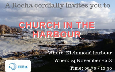 Church in the harbour – Kleinmond