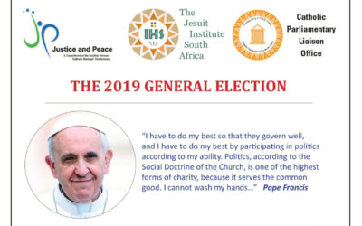 South African Catholic Bishops' Conference: Voter education pamphlets available for download