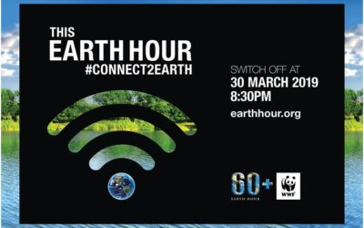 Earth Hour – 30 March 2019