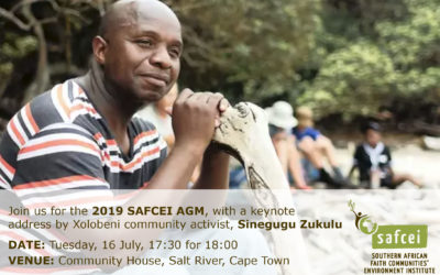 Join us on 16 July for our AGM with keynote speaker, Sinegugu Zukulu