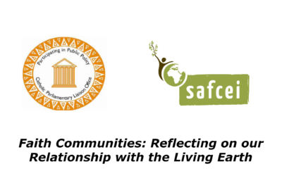 Faith Communities: Reflecting on our Relationship with the Living Earth – 21 May 2019