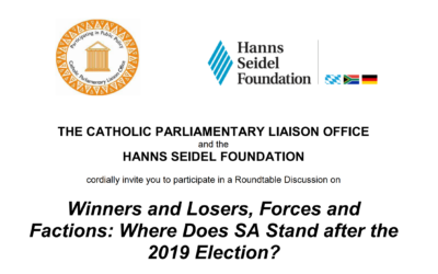 Winners and Losers, Forces and Factions: Where Does SA Stand after the 2019 Election?