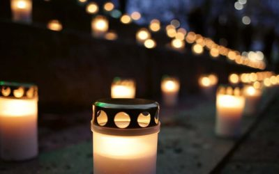 Light a candle for the world's environmentalist!