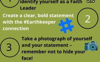 Season of Creation virtual EarthKeeper picket
