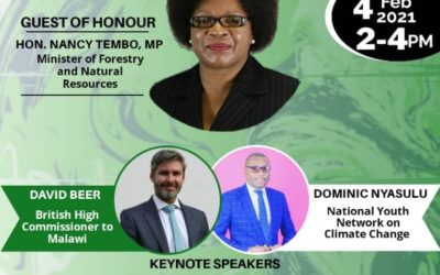 FLEAT: Dominic Amon Nyasulu to deliver a keynote address at The Road to COP26 online meeting