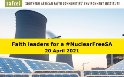 Faith Leaders for a #NuclearFreeSA – 20 April 2021